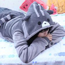 New Women Cute Hooded Cat Ears Hoodie Girl Pullover Jacket Sweatshirt Coat Anime