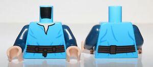 Lego Star Wars Torso V-Neck Shirt Dark Brown High Tie Belt Boba Fett