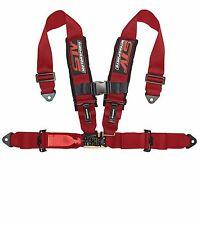 RED Racing 4 Point 3'' Safety Belt Harness Polaris UTV RZR XP 1000 900 800