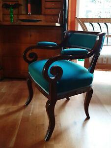 Wiener Biedermeier Sessel um 1820 - Sessel, Armlehnstuhl
