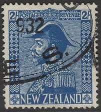 NEW ZEALAND SG466 1926 2/= DEEP BLUE USED