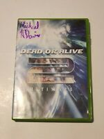 Dead or Alive 2 Ultimate (Microsoft Xbox, 2004) Free Shipping Tested Complete