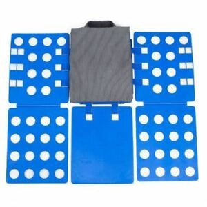 USA Clothes Folder Folding Board Laundry Organizer T Shirt Fast Fold Flip Adult