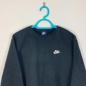 Vintage Nike Black Crew Neck Sweatshirt