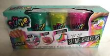 "So Slime Shakers 3-Pack Make your own Rainbow Slime! Surprise Figures  ""NEW"""