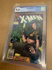 Uncanny X-Men #267 CGC 9.6 Rare Newsstand Variant with White Pages!!!!
