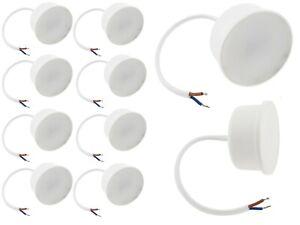 10er Pack 3Watt LED Leuchtmittel Ultra Flaches Modul Einbaustrahler Einbauspot