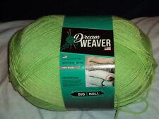 1 POUND DREAM WEAVER 4 PLY LIGHT GREEN Skeins yarn 100% Acrylic 16OZ / LB
