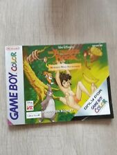 Manuel Notice de jeu Nintendo game boy color FR originale jungle book mowgli s