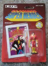 ERTL DC COMICS SUPER HEROES DIE CAST METAL Figura SHAZAM BLISTER CARD RARE