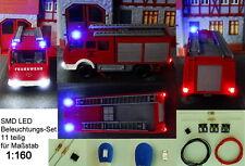 SMD LED Beleuchtungsset Bausatz Blinkt Blau Polizei Feuerwehr  Spur N C3005