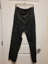 Wonderwink black Maternity scrub pants medium