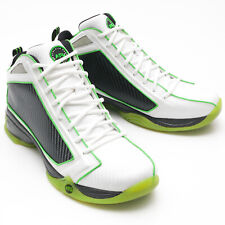 APL CONCEPT 1 Size 9 White/Black/Green Basketball Load 'N Launch Vertical Shoe