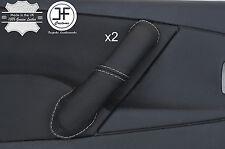 Grey stitch 2X Avant Poignée Porte Couverture en cuir pour CITROEN XSARA PICASSO 04-10