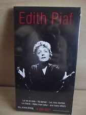 EDITH PIAF - 4 CD- Set incl. 20 Page Booklet - NEU & OVP! - RARE  CD Gewicht 266