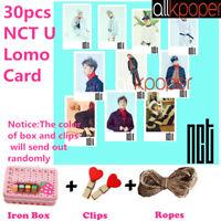 30pcs NCT U Lomo Card Photocards Photo Postcard Picture Kpop Merchandise