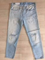 NWT 7 For All Mankind Jeans 24 28 29 31 Seven The Boyfriend Fit Slim Leg Denim