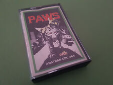 Paws Amstrad CPC Game - Artic Computing (SCC)