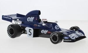 1:18 TYRRELL FORD 006 F1 race car J Stewart or F Cevert 1973 MCG 18600 18601