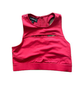 Carbon 38 Pullover Sports Bra Red Size XS Nwot