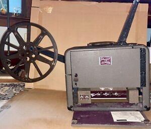 Vintage Bell & Howell 16mm Filmosound 179 Tube Amplifier Projector w/ Speaker