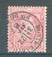 MONACO ; 1885 ; Y&T n° 5 ; oblitéré