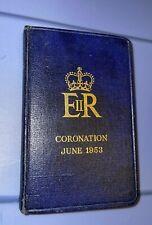 QUEEN ELIZABETH 2- New Testament Bible - CORONATION BIBLE - JUNE 1953