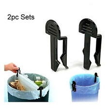NEW Kitchen Garbage Can Clip Waste Bin Trash Can Bag Lock Clip Holder Clips 173