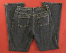 """Rafaella Women's Boot Leg Cut Denim Dark Blue Jeans Size 8 (29x32"""")"""
