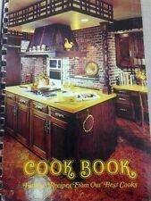 Favorite Recipes Best Cooks cookbook cook book spiral softcover Munger MN vtg