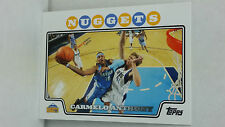 2008-09 Topps #15 CARMELO ANTHONY (Nuggets)