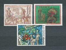 TABLEAUX d' ART - 1976 YT 1899 à 1901 - TIMBRES NEUFS** MNH LUXE