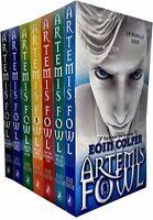 Artemis Fowl Collection Eoin Colfer 7 Books Set Lost Colony,Atlantis Complex New