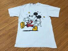 Small - Vtg 90s Mickey Mouse Walt Disney Cotton T-shirt Usa