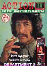 Action TV No.2 PETER WYNGARDE COVER, AVENGERS, DEPARTMENT S,XENA
