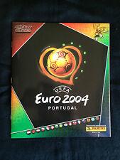 Panini UEFA Euro 2004 Portugal Complete Stickers Set Album