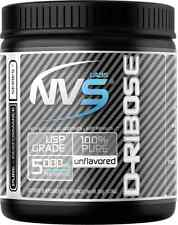 New NVS Labs D-Ribose Unflavored 300g Pure Powder 60 Servings