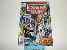 Logan's Run #4 Comic Marvel 1977 George Perez Bronze Age Science Fiction Movie