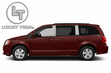 Dodge Grand Caravan Stainless Chrome Pillar Posts by Luxury Trims 2008-2015 6pcs