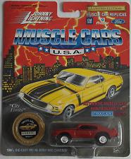 Johnny Lightning -'69/1969 Pontiac GTO Judge Rosso Vinaccia Nuovo/Scatola Originale