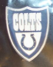 Indianapolis Colts shield NFL lapel pin crest