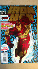 IRON MAN GIANT SIZE #300 FOIL COVER FIRST PRINT MARVEL COMICS (1994)