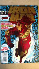 IRON MAN #300 FOIL COVER FIRST PRINT MARVEL COMICS (1994) WAR MACHINE