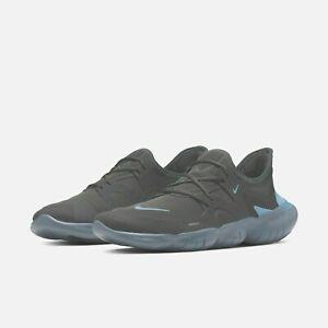 Nike Free Rn 5.0 - Running Shoes - Grey/Blue - UK 9.--US 10 EUR 44
