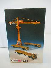 Kibri H0 10290 Liebherr Turmdrehkran m. 3 MB Sattelzügen  siehe Foto WT7312