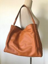 Cole Haan Pecan Brown Leather Large Dillan Hobo Shoulder Bag Purse CHR11496 NWT