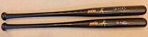 (2) Mattingly Wood Baseball BatV-Grip Maple Wood Baseball Bat AUTOGRAPHED BY DON