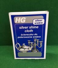 HG Haagensen Silver Shine Polishing cloth Jewellery Silverware. Like Goddards