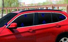 BMW X1 E84 2009-2015 Chrome Windows Frame Trim Cover 4Door 12Pcs S.Steel