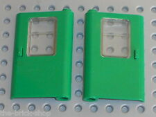 Portes LEGO TRAIN green doors ref 4181 & 4182 / Set 7898 & 4552  Cargo Crane